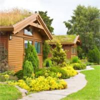 Hübsche Gartenanlage