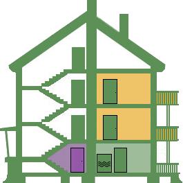 Symbol von Haus
