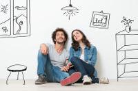 Paar plant eigenes Haus